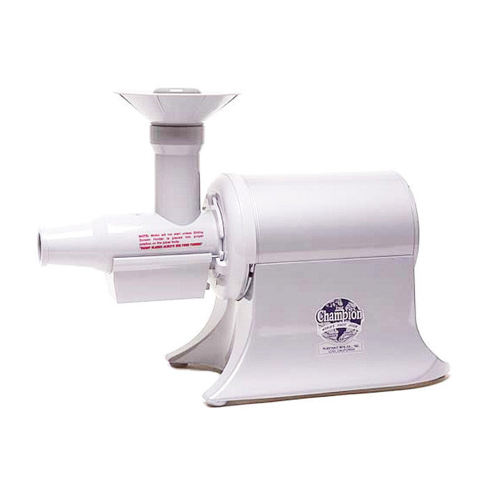 Champion Commercial Juicer - White