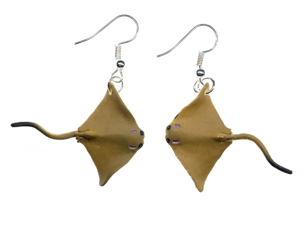 Earrings: Eagle Ray
