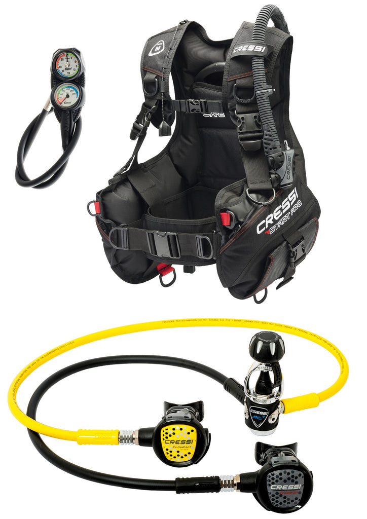 Cressi Scuba Set START PRO: BCD & regulator