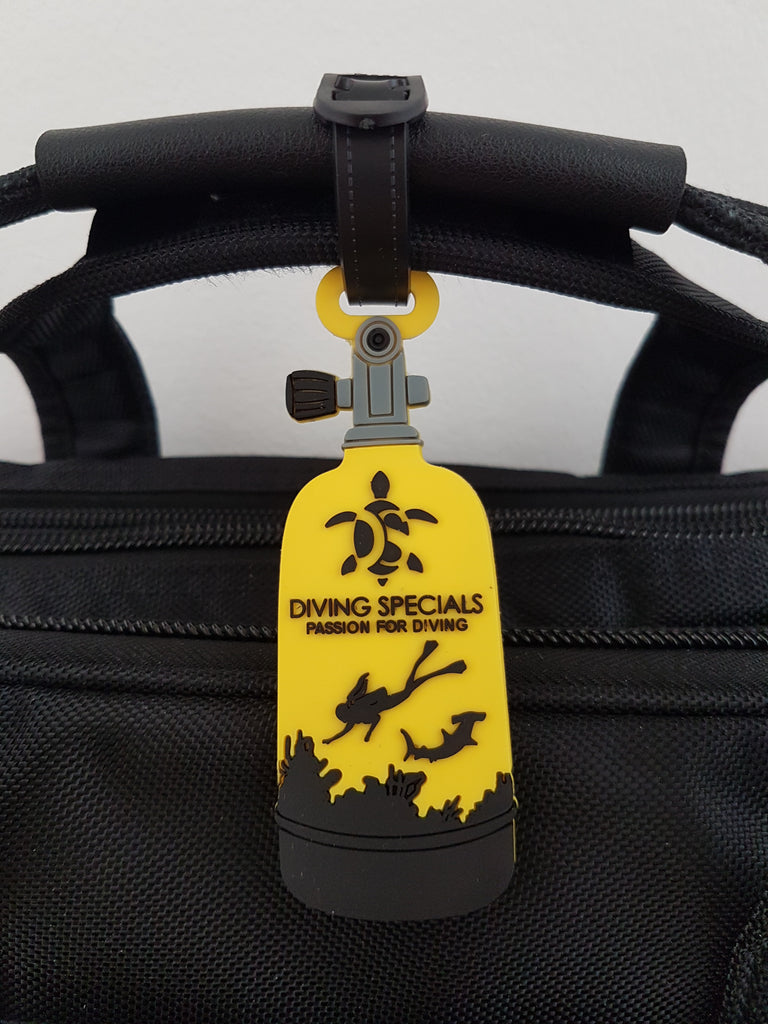 Amazing Scuba Luggage Tag