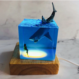 Great White Shark LED Lamp