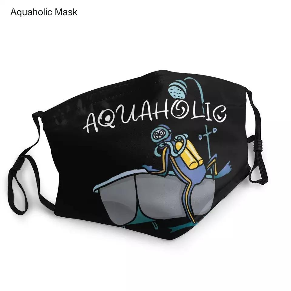 Face Masks: Aquaholic