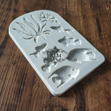 Fish Bath Coral Shape Silicone Chocolate Mold Cake Decoration Mold