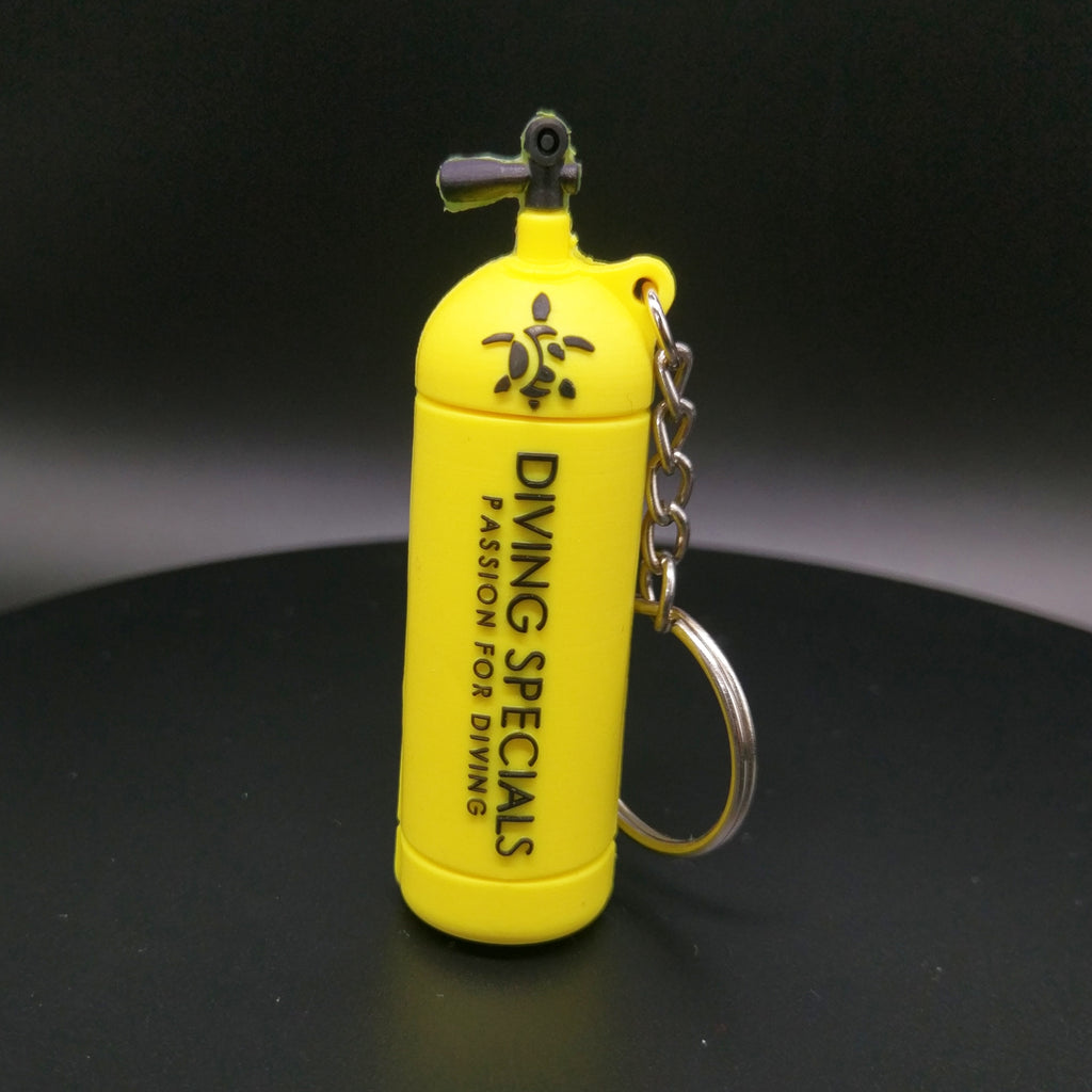 Cool Scuba Tank Key Chain