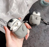 Airpods Case little shark, pinguin & whale