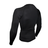 Black Rashguard Men: long sleeve