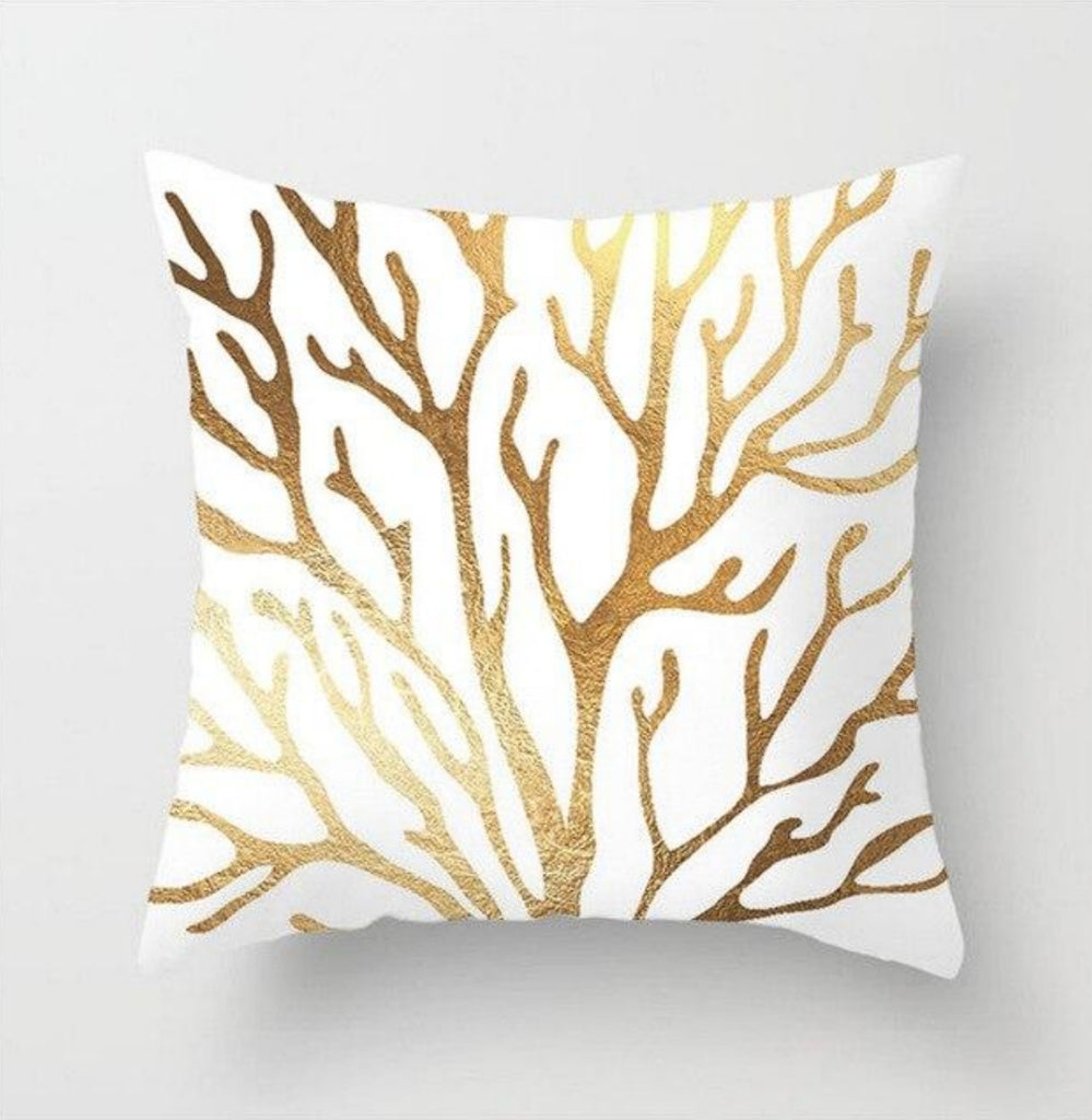 Pillow cover: Coral Pattern - various colours