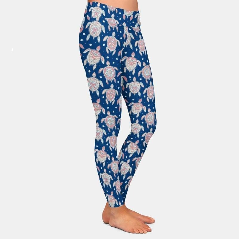 Women Turtle Leggings