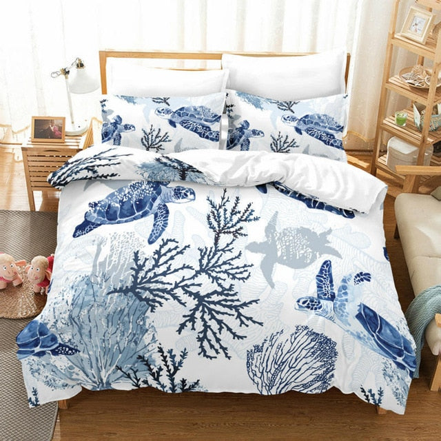 Bedding Sheet: Sea Turtle