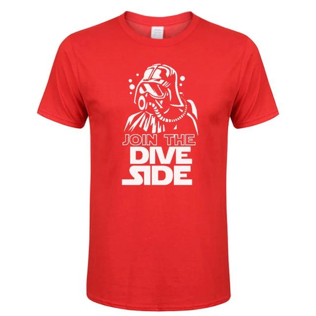 T-Shirt Men: Join the Dive Side