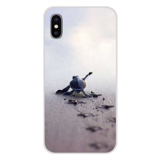 iPhone Case: Cute Sea turtle