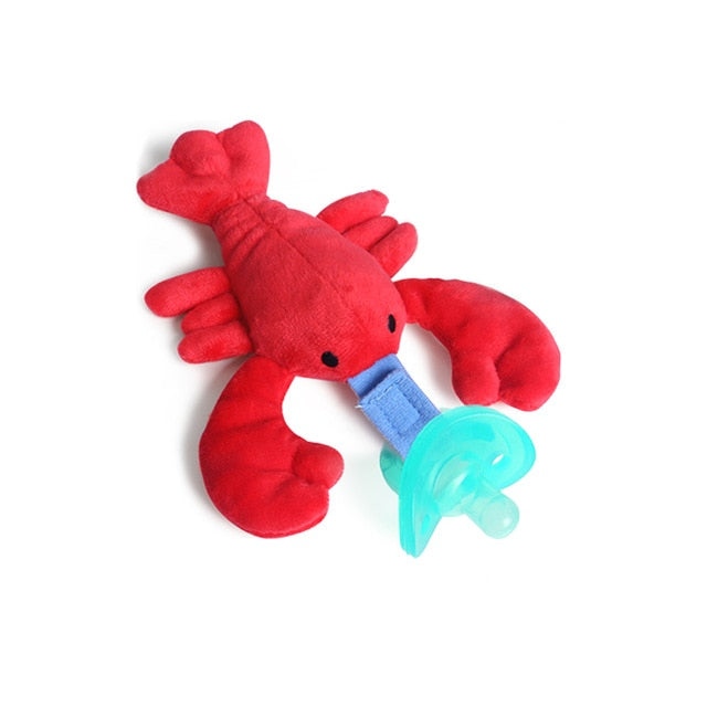 Baby Doll & Pacifier Set: Whale, Clown Fish or Crab