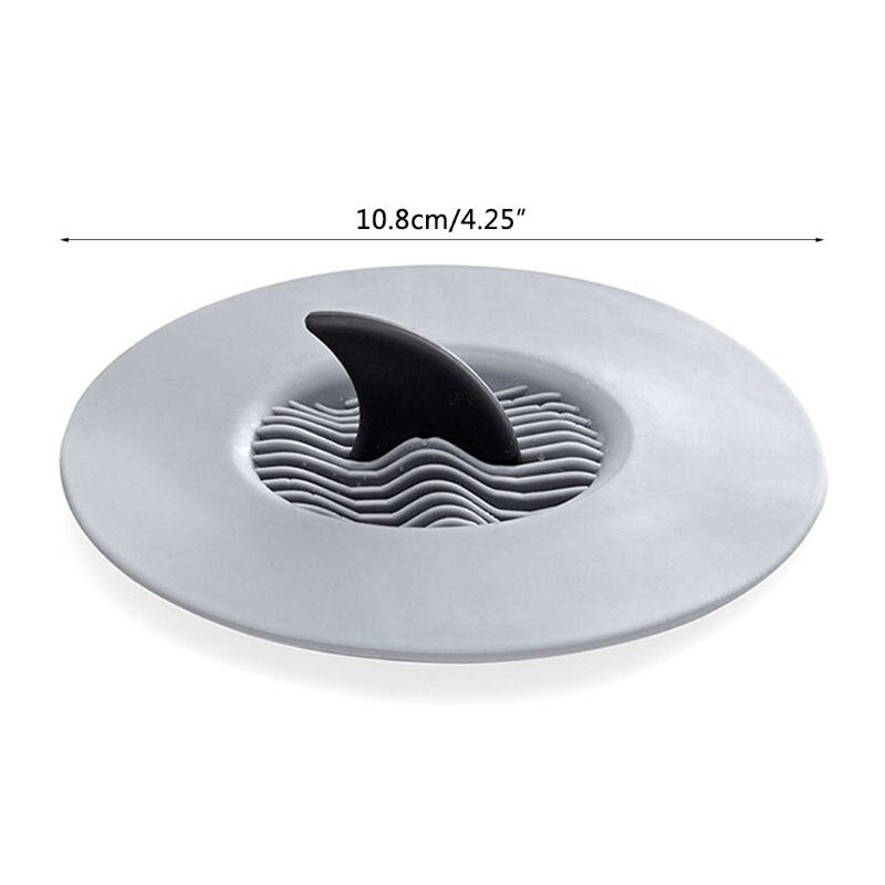 Shark Fin Sink Drain Stopper - multiple colours