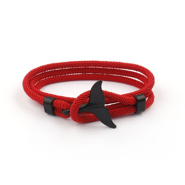 Whale Bracelet - various colours