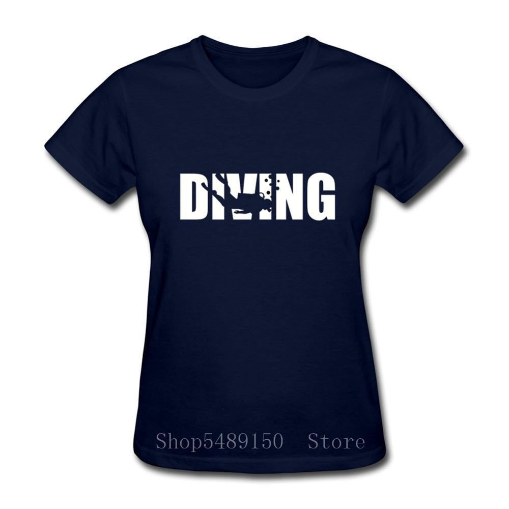 T-Shirt Women: DIVING