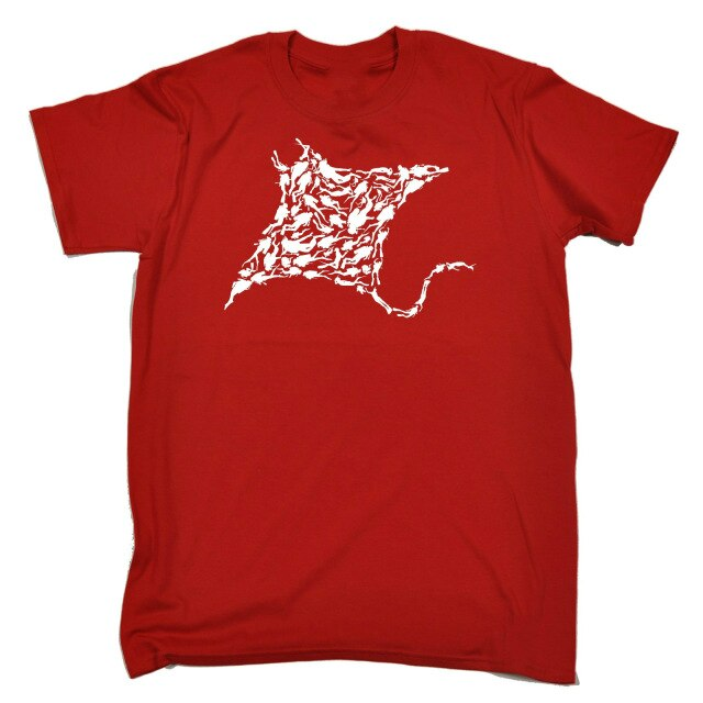 T Shirt for men: Stylish Manta Ray