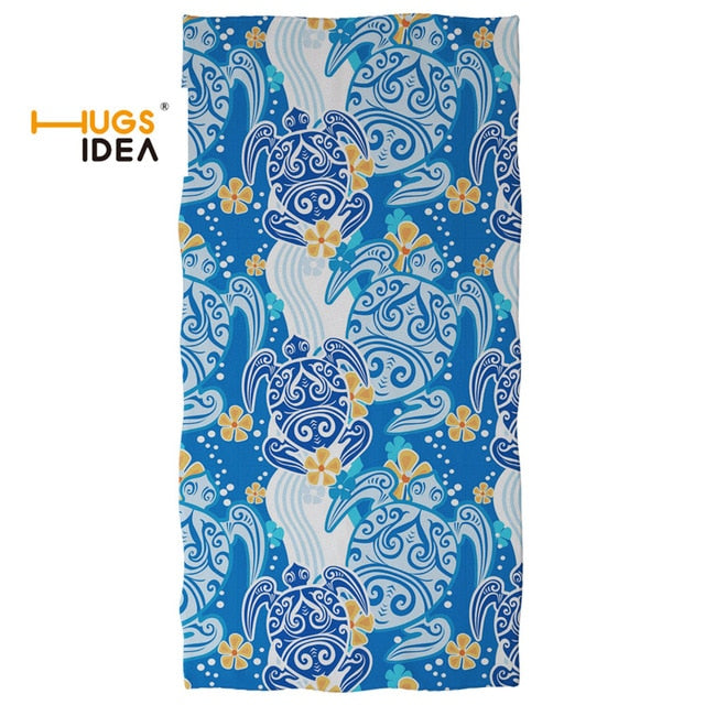 Quick-dry Beach Towel: Sea Turtles