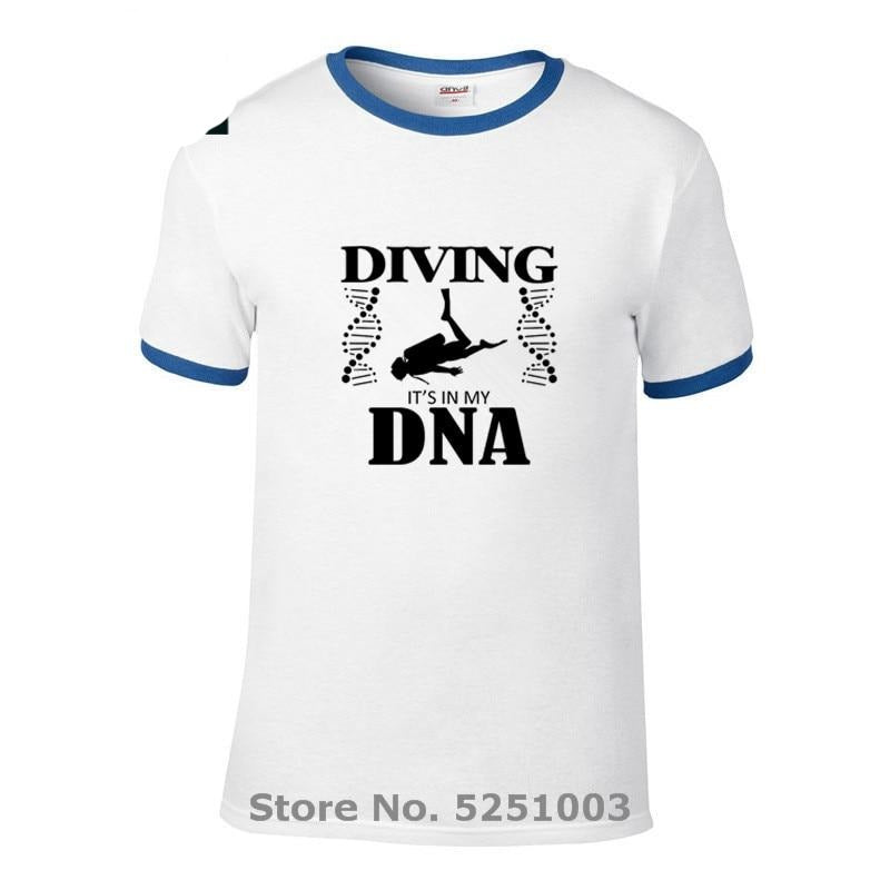 T-Shirt Men:  Scuba Diving is my DNA