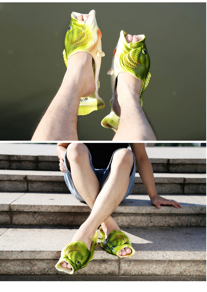 Flip Flops & Slippers: Fish Motive