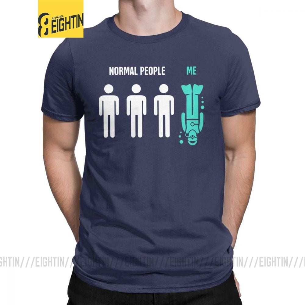 Men T-Shirt: Normal People & Me