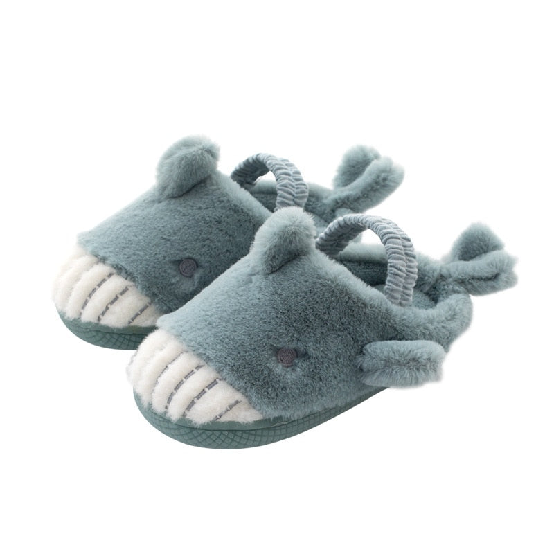 Children Footwear: Wool Shark Baby Shoes