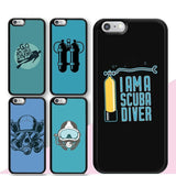 iPhone Case: Scuba Addict