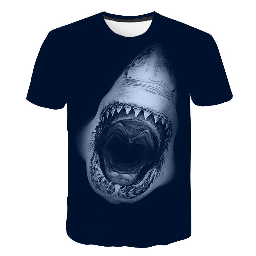 Men's T-Shirt: Great White Shark