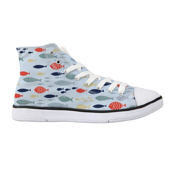 Sneaker: Various Fish Prints