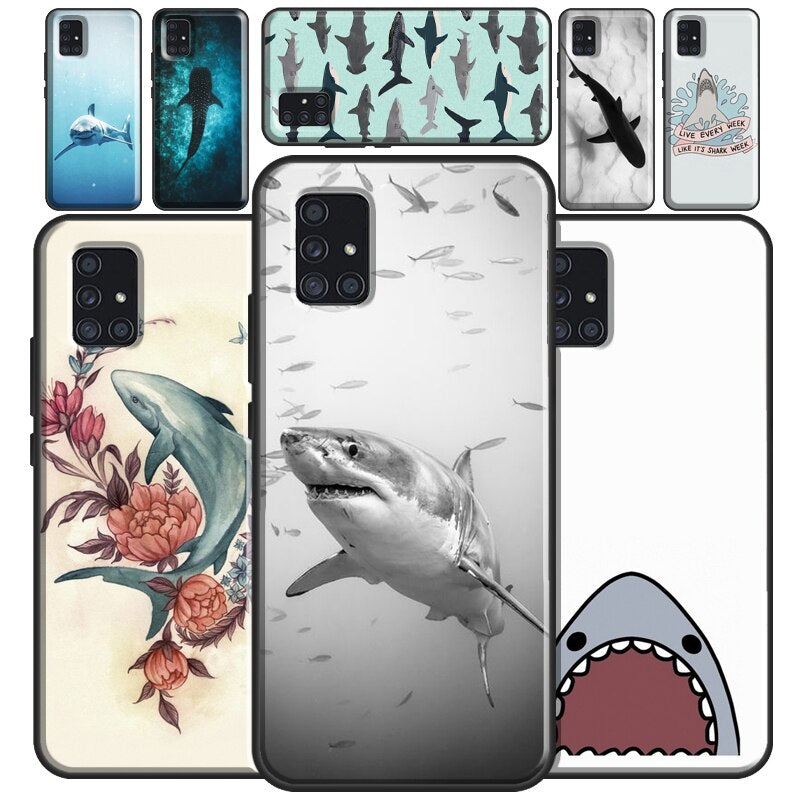 Samsung Phone Case: Sharks