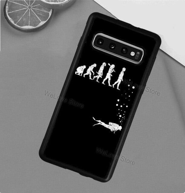 Samsung Phone Case: Scuba Addict