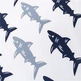 Bedding Sheet: Cute Sea Sharks (Queen Size)