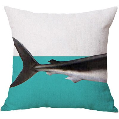 Pillow cover Split Shark