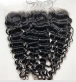 Raw Burmese Curly Frontal