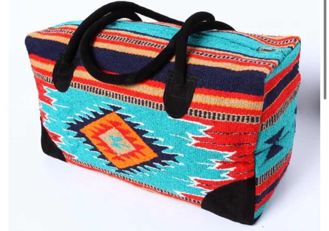 Wyoming Sunset Weekender Bag