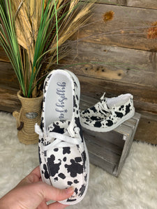 Cowprint Holly Shoes