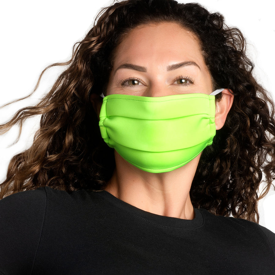Neon Green Neoprene Facemask