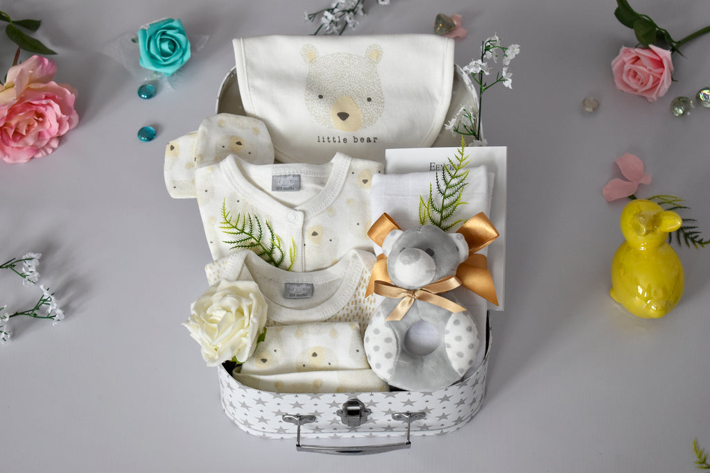 FROM ME to YOU Little Bear Cream Baby Hamper