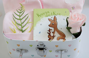 SWEET Dreams LITTLE Pink BUNNY Baby Hamper