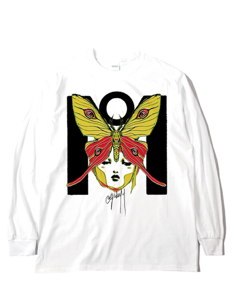 Moth brain / long sleeve