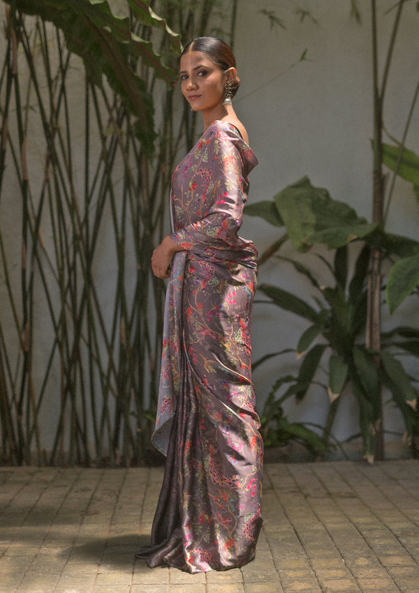 Whimsical Gradient Saree
