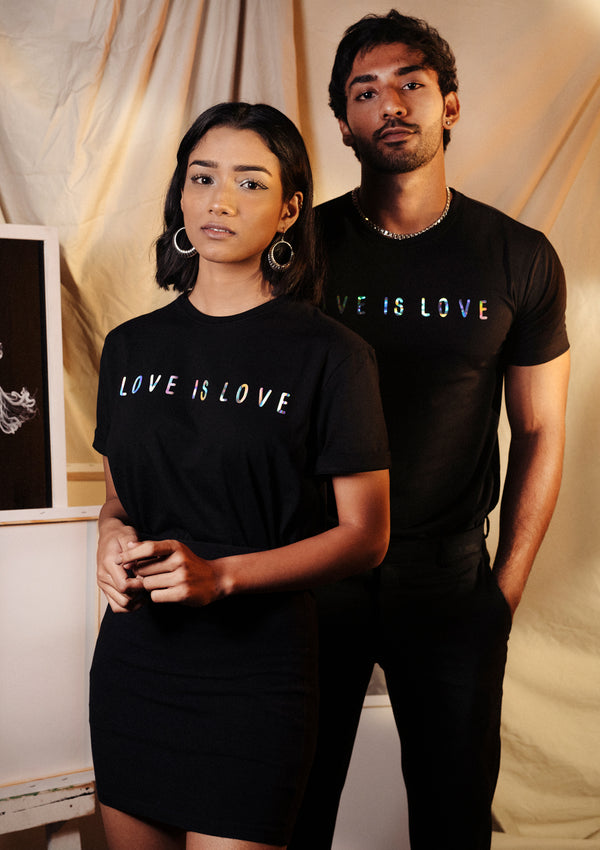 Love is Love Black T-Shirt