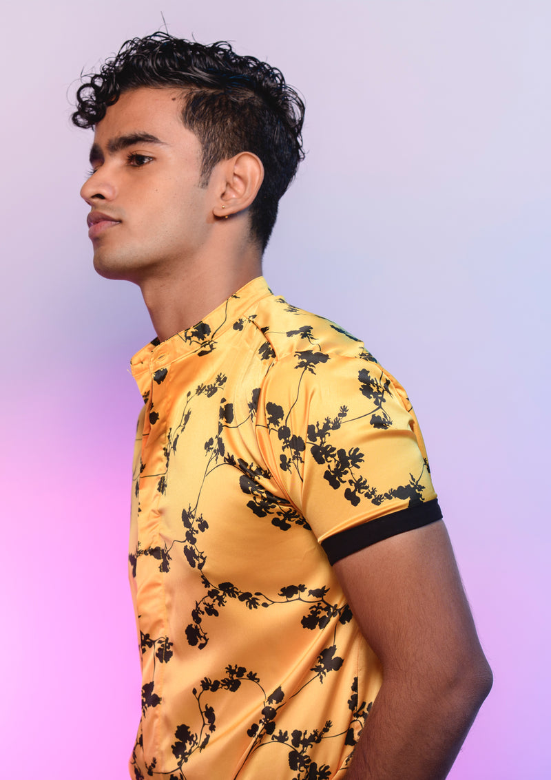 Kandyan Dancer Orchid Shirt