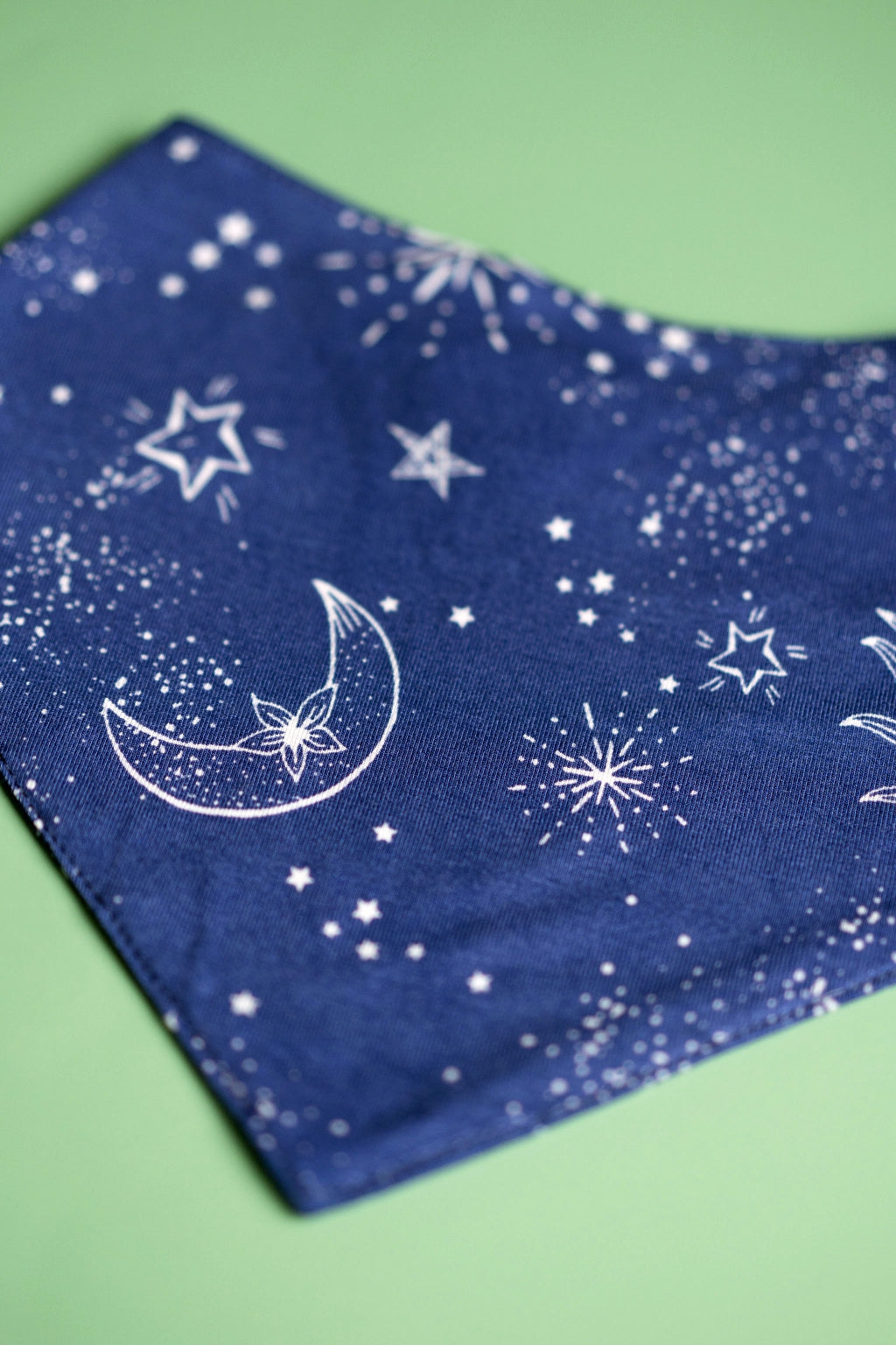 Constellation & Stars Drool Bib
