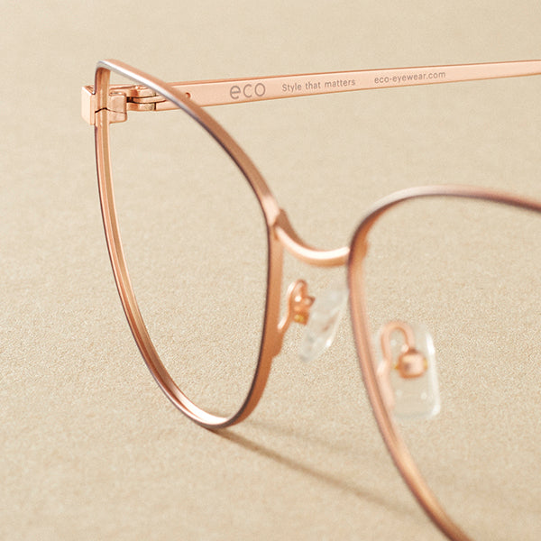 Our recycled frames are made using 95% recycled metal. That's a serious saving on natural resources!
