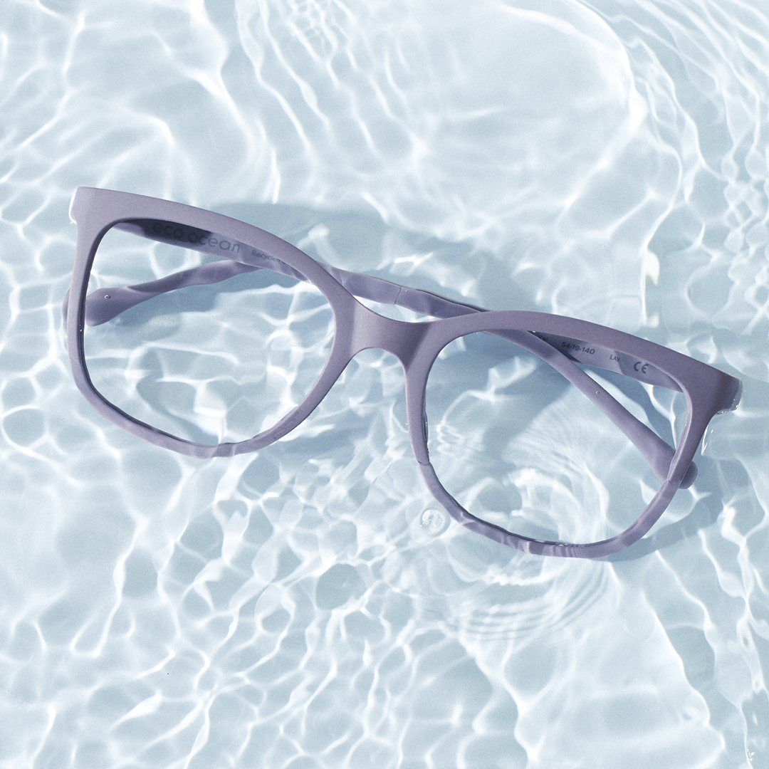 All Eco Ocean frames are created from recycled and ocean based plastics. Join the wave of change!