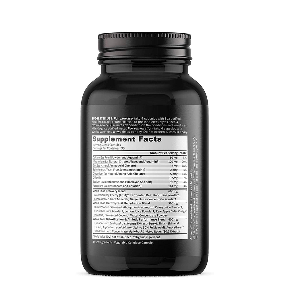 Whole Food Electrolyte Capsules