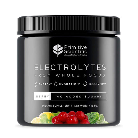 Whole Food Electrolyte Powder