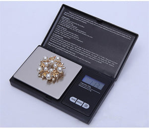 Professional Mini Digital Scale for  Herb Grinder Tobacco Smoking Pipe  Accessories Pipe Screens  Rolling Paper