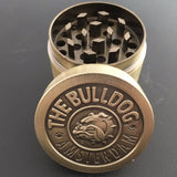 New hot 3 layers Metal Zinc Alloy Chinese Herb Grinder Spice Herbal Smoking Crusher Hookah Pipe Hand Muller Tobacco Grinder