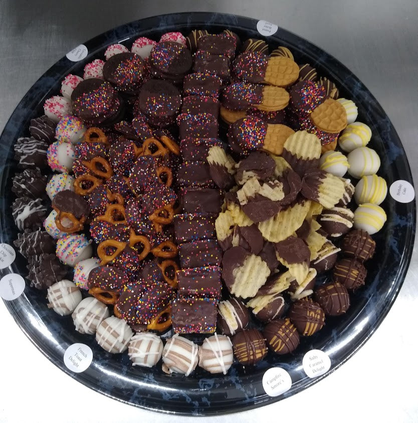 Chocolate Dipped Goody Platter - large